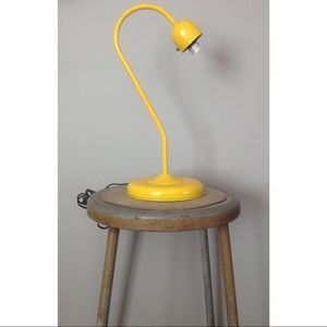 Other - Industrial Metal Lamp Yellow